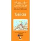 Galicia. Mapa de carreteras