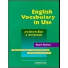 English Vocabulary un Use. Pre-intermediate & intermediate