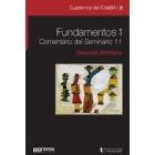 Fundamentos 1:  Comentario del Seminario 11