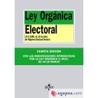 Ley orgánica electoral