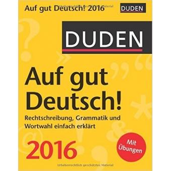 Duden Auf gut Deutsch! 2016