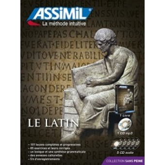 Le Latin (Assimil la méthode intuitive) Incluye libro+1 CDmp3+5 CD audio