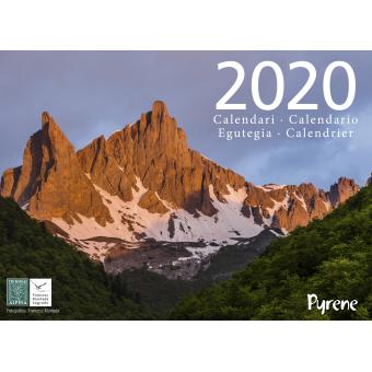 Calendari 2020 Pyrene