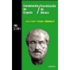 Constitución de Esparta/Constitución de Atenas