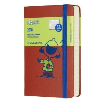Moleskine* Agenda Diaria PEANUTS Pocket (cartoné)