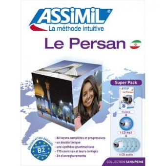 Le Persan (Superpack: Un livre de 63 leçons en 508 pages, 4 CD audio et 1 CD MP3)