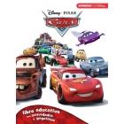 Cars Libro educativo con actividades y pegatinas