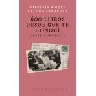 600 libros desde que te conocí: correspondencia