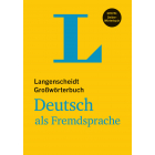 Langenscheidt Großwörterbuch Deutsch als Fremdsprache mit Online-Wörterbuch