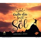 CALENDARI CADA DIA SURT EL SOL 2020