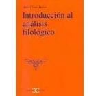 Introducción al análisis filológico