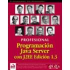 Programación con Java Server con J2EE edición 1.3