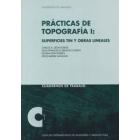 Prácticas de topografía I: superfícies tin y obras lineales