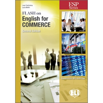 Flash On English for Commerce (Downloadable MP3 Audio Files)