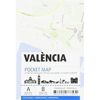 Valencia. Pocket Map Irrompible