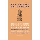 Poesía y filosofía en la villa de los papiros: Epigramas y
