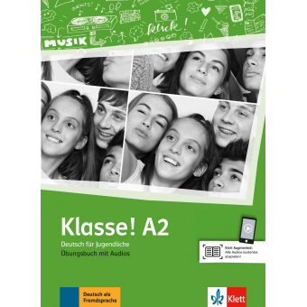 Klasse! A2 - Übungsbuch mit Audios