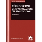 Código Civil y ley y reglamento del registro civil