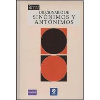 Diccionario de sinónimos y antónimos - photo#18