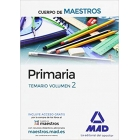 Cuerpo de Maestros Primaria. Temario Volumen 2