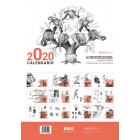 Calendario 2020. La selección natural