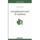 La Legitimación social de la pobreza
