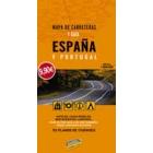 Guía y mapa de carreteras de España y Portugal (espiral)