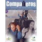 Compañeros 2 A2. Libro del alumno + CD  (Dirígido a estudiantes de 12- 16 años)