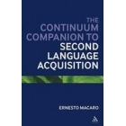 Continuum Companion to Second Language Acquisition