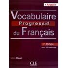 Vocabulaire progressif du français avec 390 exercises. Niveau avancé.Livre + CD audio(2e édition)