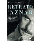 Retrato de Aznar con paisaje al fondo