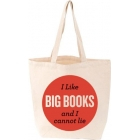 I Like Big Books & I Cannot Lie Tote Bag