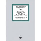 Lecciones de Derecho Público autonómico, estatal y europeo