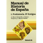 Manual de Historia de España prehistoria, historia antigua