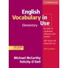 English Vocabulary in Use Elementary with Key