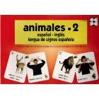 Animales  2. Español-Ingles lengua de signos española