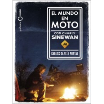 Pack El mundo en moto con Charly Sinewan (Libro + Cuaderno de viaje + 4 Vinilos)