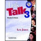 Let's talk 3. Student's book. Incluye CD