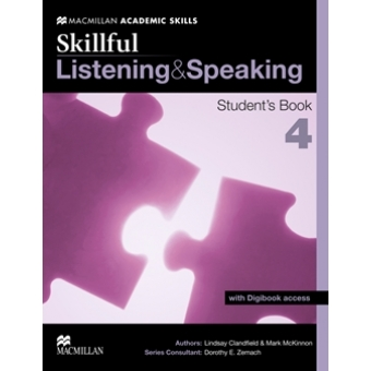 Skillful: Listening and Speaking Student's Book with digibook Access. Level 4