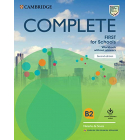 Complete First for Schools 2nd edition For Spanish Speakers - Workbook WITHOUT answers