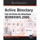 Active Directory. Los servicios de directorio Windows 2000