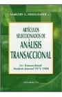 Artículos seleccionados de análisis transaccional