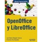 OpenOffice y LibreOffice. Manual imprescindible