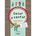 Coser y cantar (cuento+kit de costura con aguja y lanas)