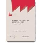 El valor geográfico de España (1921)