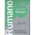 Diccionario Rumano pocket. Român-Spaniol/ Español-Rumano