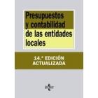 Presupuestos y contabilidad de las entidades locales