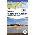 Costa del Azahar   Delta del Ebro -Mapa-