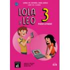 Lola y Leo paso a paso 3 ? Libro del alumno + Audio descargable MP3 Nvel A1.2