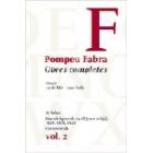 Obres completes de Pompeu Fabra, 2. Sil·labari. Gramàtiques de 1918 (curs mitjà), 1928 i 1941. Cursos orals